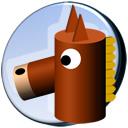 おもちゃの馬のアイコン 1 競馬フリー素材 競馬ブログ素材のうまぽっと
