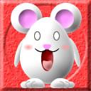 変なネズミのアイコン 4 競馬フリー素材 競馬ブログ素材のうまぽっと