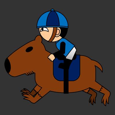 カピバラに乗る騎手のアイコン(4)画像2
