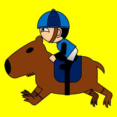カピバラに乗る騎手のアイコン(4)画像5