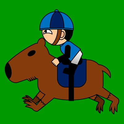 カピバラに乗る騎手のアイコン(4)画像6