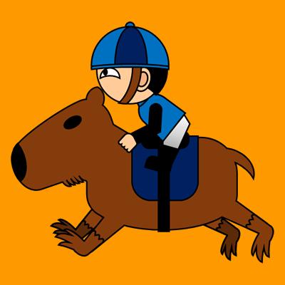 カピバラに乗る騎手のアイコン(4)画像7
