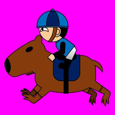 カピバラに乗る騎手のアイコン(4)画像8