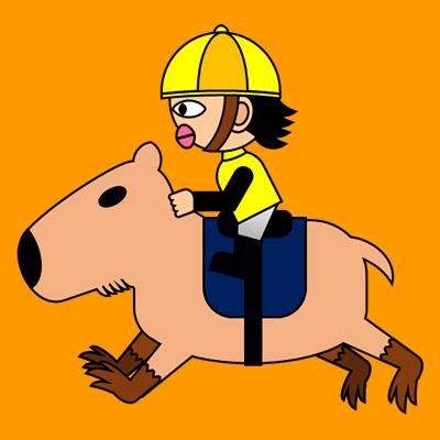 カピバラに乗る騎手のアイコン(5)画像7