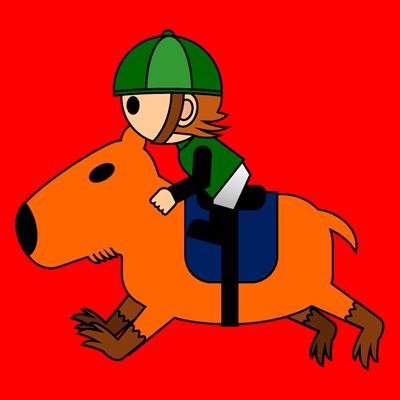 カピバラに乗る騎手のアイコン(6)画像3