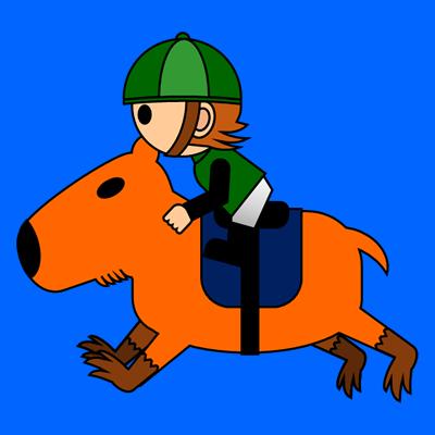 カピバラに乗る騎手のアイコン(6)画像4