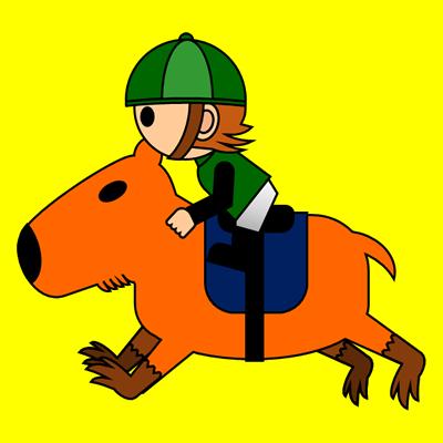 カピバラに乗る騎手のアイコン(6)画像5