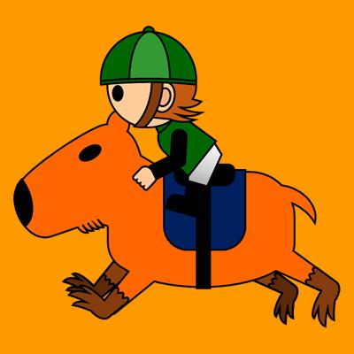 カピバラに乗る騎手のアイコン(6)画像7