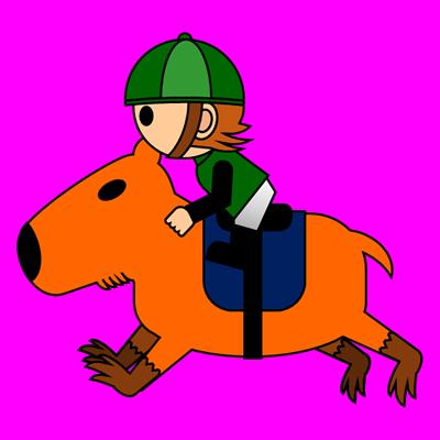 カピバラに乗る騎手のアイコン(6)画像8
