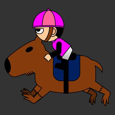 カピバラに乗る騎手のアイコン(8)画像2