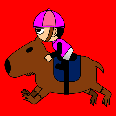 カピバラに乗る騎手のアイコン(8)画像3