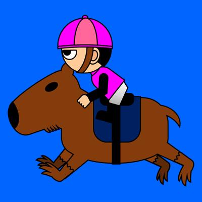 カピバラに乗る騎手のアイコン(8)画像4