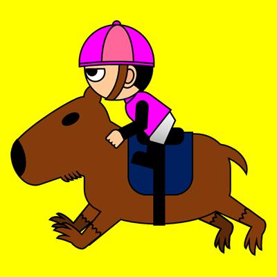 カピバラに乗る騎手のアイコン(8)画像5
