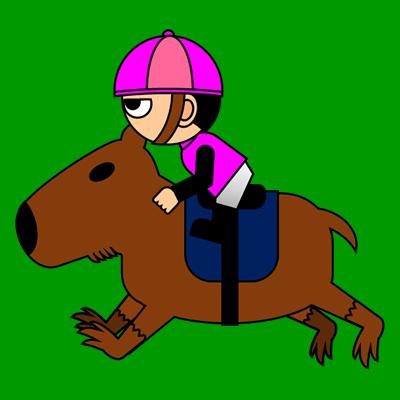 カピバラに乗る騎手のアイコン(8)画像6