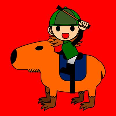 カピバラに乗る騎手のアイコン(14)画像3