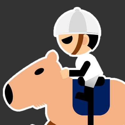 カピバラに乗る騎手のアイコン(17)画像2