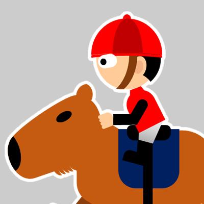 カピバラに乗る騎手のアイコン(19)画像