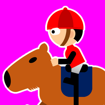 カピバラに乗る騎手のアイコン(19)画像8