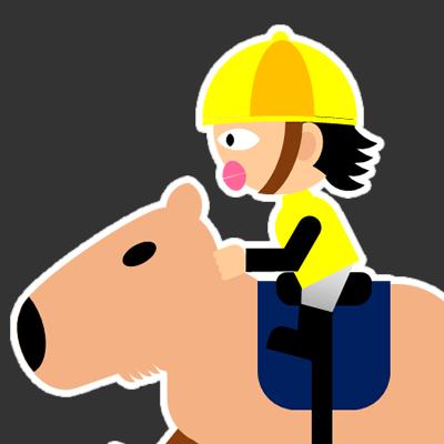 カピバラに乗る騎手のアイコン(21)画像2