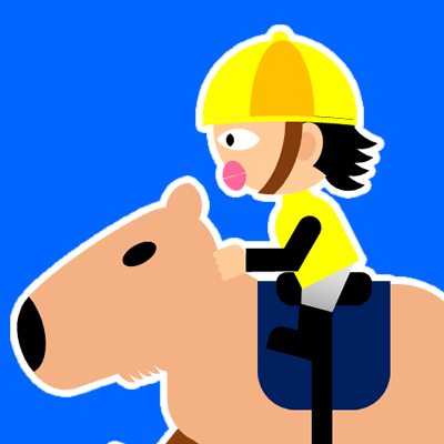 カピバラに乗る騎手のアイコン(21)画像4