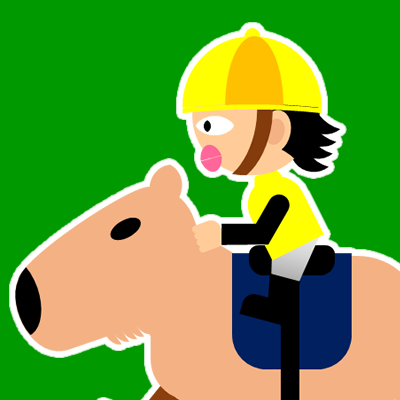 カピバラに乗る騎手のアイコン(21)画像6