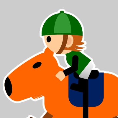 カピバラに乗る騎手のアイコン(22)画像