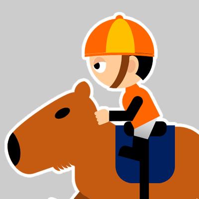 カピバラに乗る騎手のアイコン(23)画像