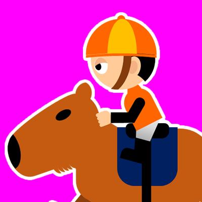 カピバラに乗る騎手のアイコン(23)画像8