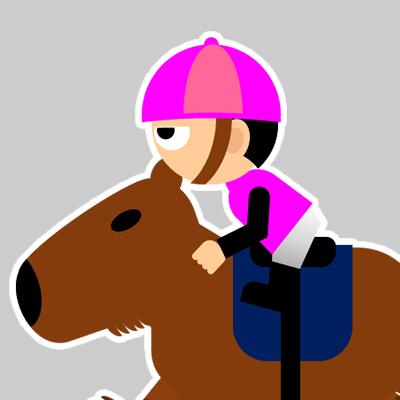 カピバラに乗る騎手のアイコン(24)画像