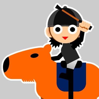 カピバラに乗る騎手のアイコン(26)画像
