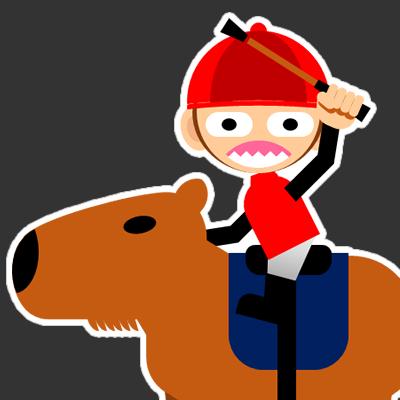 カピバラに乗る騎手のアイコン(27)画像2