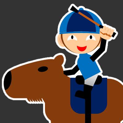 カピバラに乗る騎手のアイコン(28)画像2