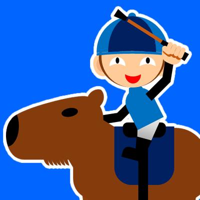 カピバラに乗る騎手のアイコン(28)画像4