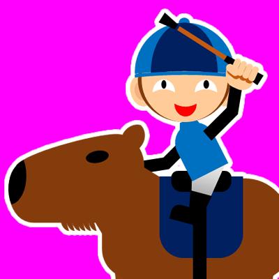 カピバラに乗る騎手のアイコン(28)画像8