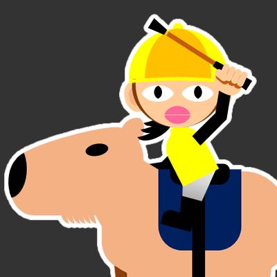 カピバラに乗る騎手のアイコン(29)画像2