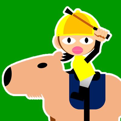 カピバラに乗る騎手のアイコン(29)画像6