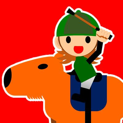 カピバラに乗る騎手のアイコン(30)画像3