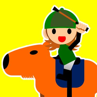 カピバラに乗る騎手のアイコン(30)画像5
