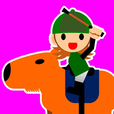 カピバラに乗る騎手のアイコン(30)画像8