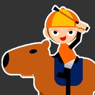 カピバラに乗る騎手のアイコン(31)画像2