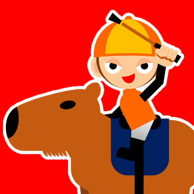 カピバラに乗る騎手のアイコン(31)画像3