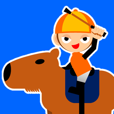 カピバラに乗る騎手のアイコン(31)画像4