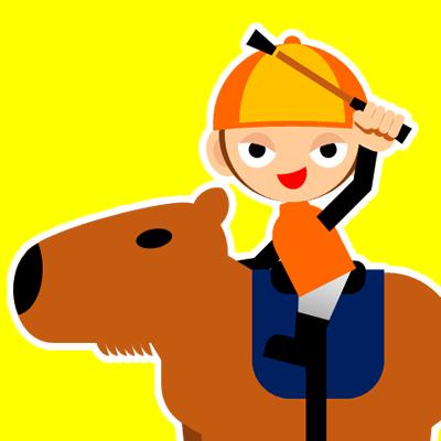 カピバラに乗る騎手のアイコン(31)画像5