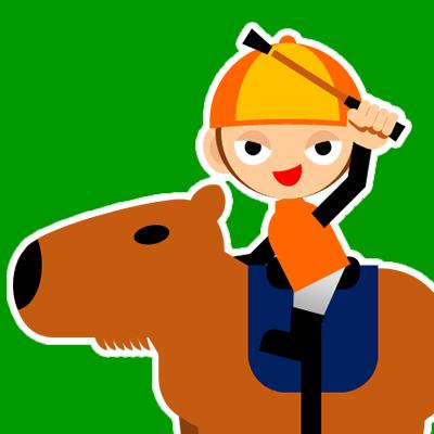 カピバラに乗る騎手のアイコン(31)画像6