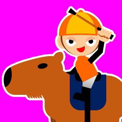 カピバラに乗る騎手のアイコン(31)画像8