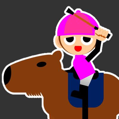 カピバラに乗る騎手のアイコン(32)画像2