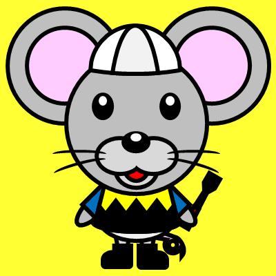 騎手衣装を着たネズミのアイコン(1)画像5