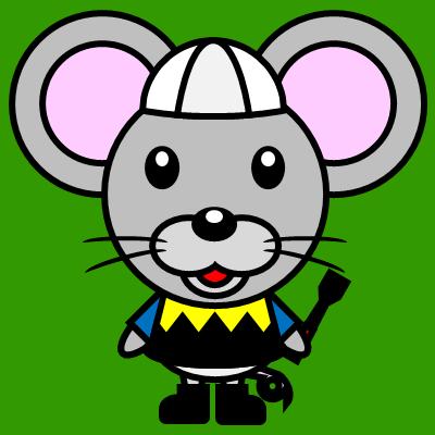 騎手衣装を着たネズミのアイコン(1)画像6