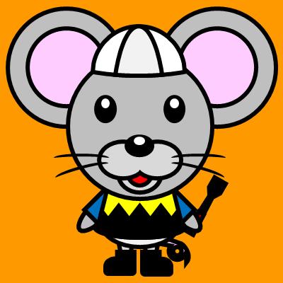 騎手衣装を着たネズミのアイコン(1)画像7