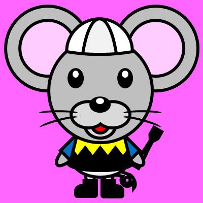 騎手衣装を着たネズミのアイコン(1)画像8
